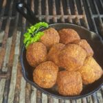 A Louisiana favorite. Fried sausage and rice balls served with chipotle mayo dipping sauce.