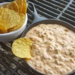 Peeled, seasoned crawfish tails immersed in flavorful queso sauce.  Served with tortilla chips