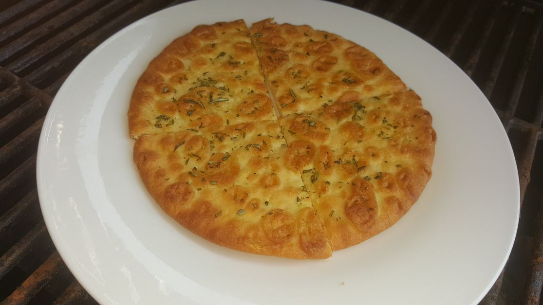 Roasted Pita Bread